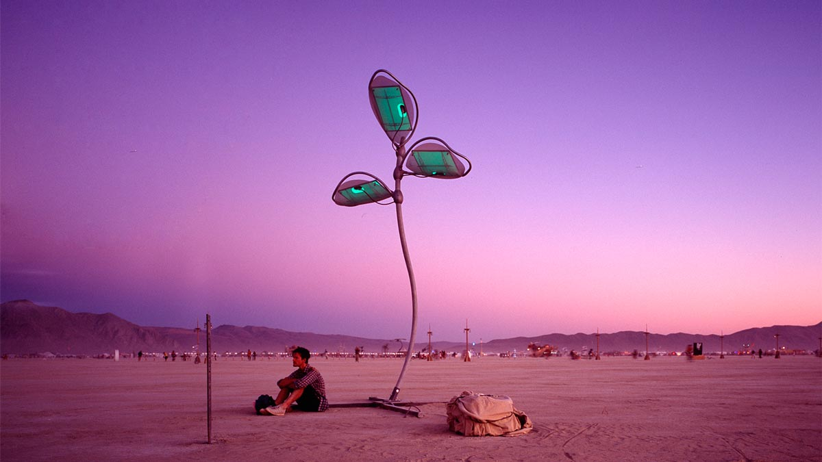 Solar-Powered Art for Urban Environments